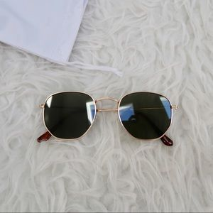 Accessories - Brandnew 51mm Hexagonal Sunglasses